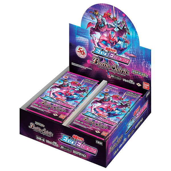 バトルスピリッツ コラボブースター『仮面ライダー Extra Expansion ブースターパック[CB20]』20パック入りBOX