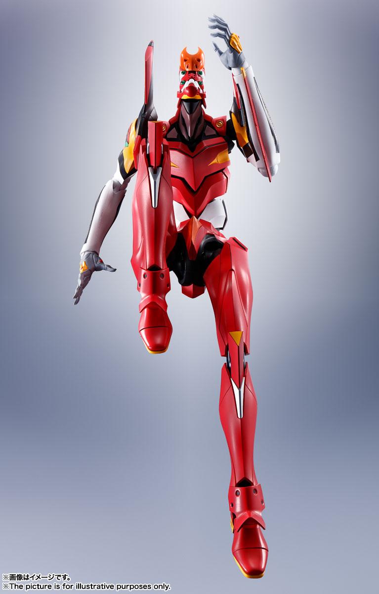 DYNACTION『汎用ヒト型決戦兵器エヴァンゲリオン2号機』ダイナクション 可動フィギュア-006