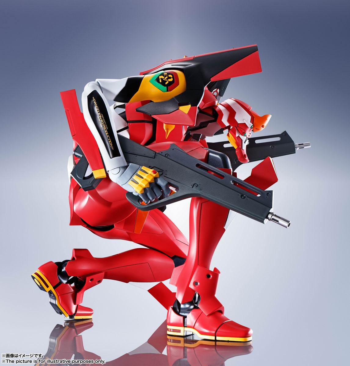 DYNACTION『汎用ヒト型決戦兵器エヴァンゲリオン2号機』ダイナクション 可動フィギュア-008