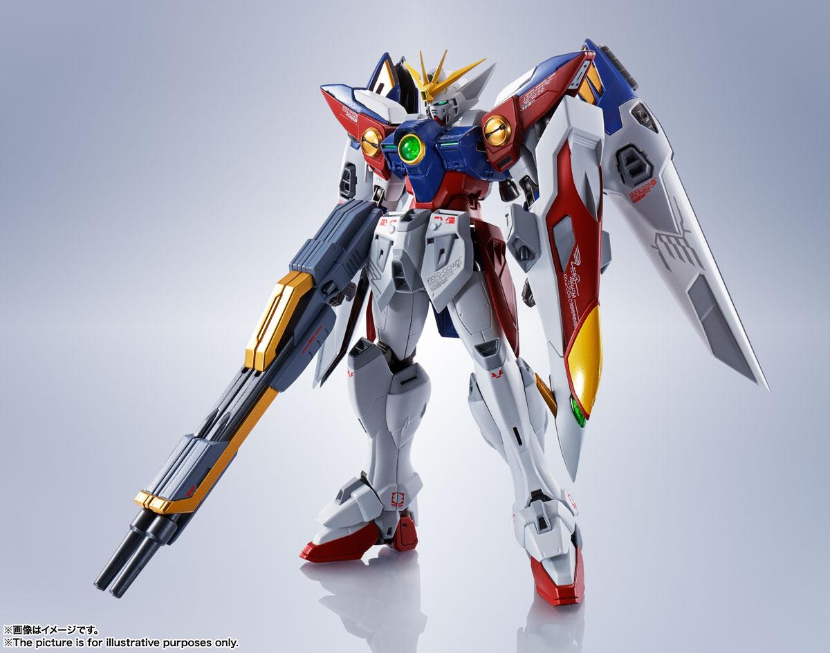 METAL ROBOT魂〈SIDE MS〉『ウイングガンダムゼロ』新機動戦記ガンダムW 可動フィギュア-001