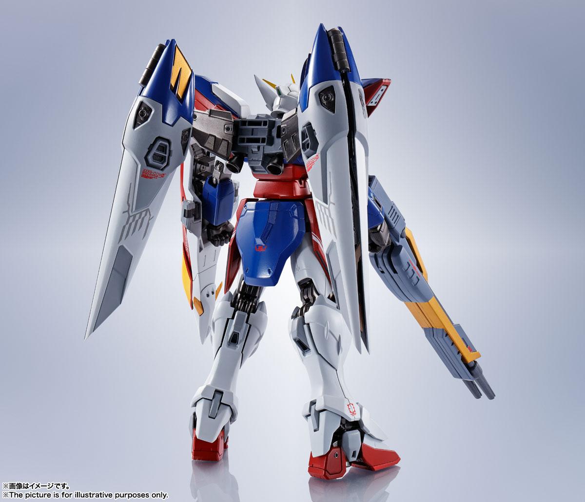 METAL ROBOT魂〈SIDE MS〉『ウイングガンダムゼロ』新機動戦記ガンダムW 可動フィギュア-002
