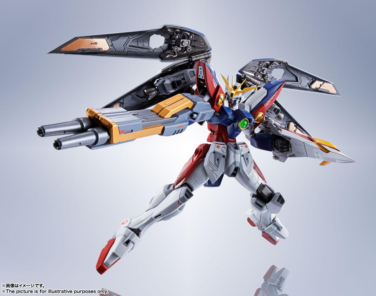 METAL ROBOT魂〈SIDE MS〉『ウイングガンダムゼロ』新機動戦記ガンダムW 可動フィギュア-003