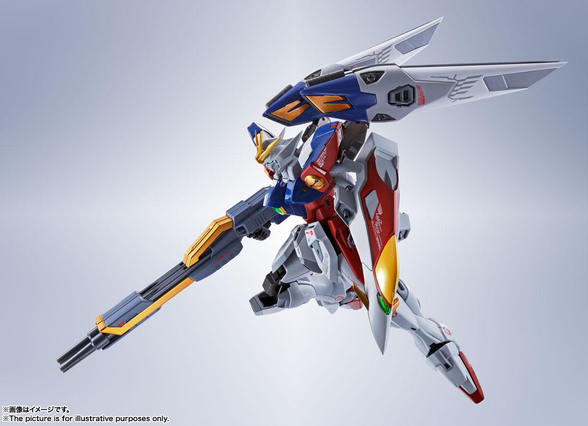 METAL ROBOT魂〈SIDE MS〉『ウイングガンダムゼロ』新機動戦記ガンダムW 可動フィギュア-005