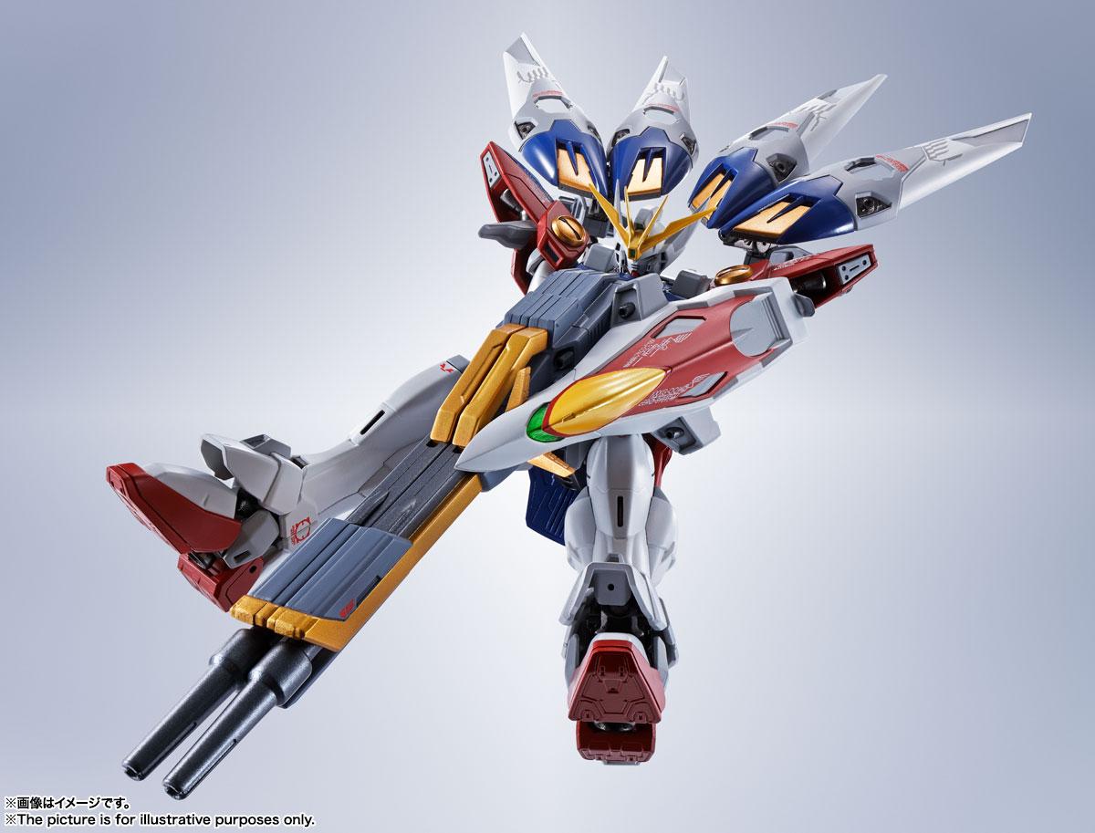 METAL ROBOT魂〈SIDE MS〉『ウイングガンダムゼロ』新機動戦記ガンダムW 可動フィギュア-006