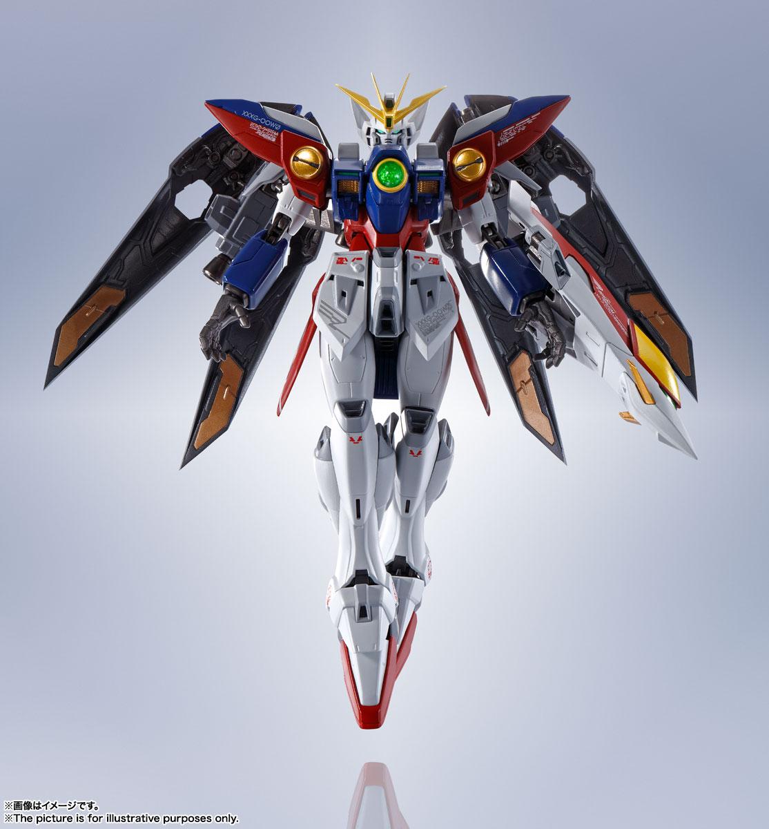 METAL ROBOT魂〈SIDE MS〉『ウイングガンダムゼロ』新機動戦記ガンダムW 可動フィギュア-008