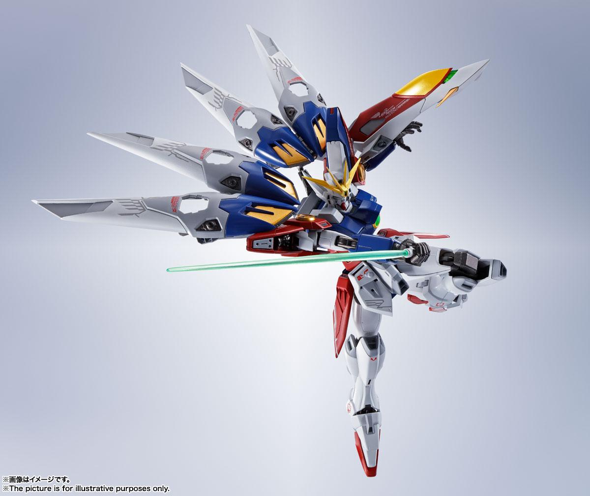 METAL ROBOT魂〈SIDE MS〉『ウイングガンダムゼロ』新機動戦記ガンダムW 可動フィギュア-009