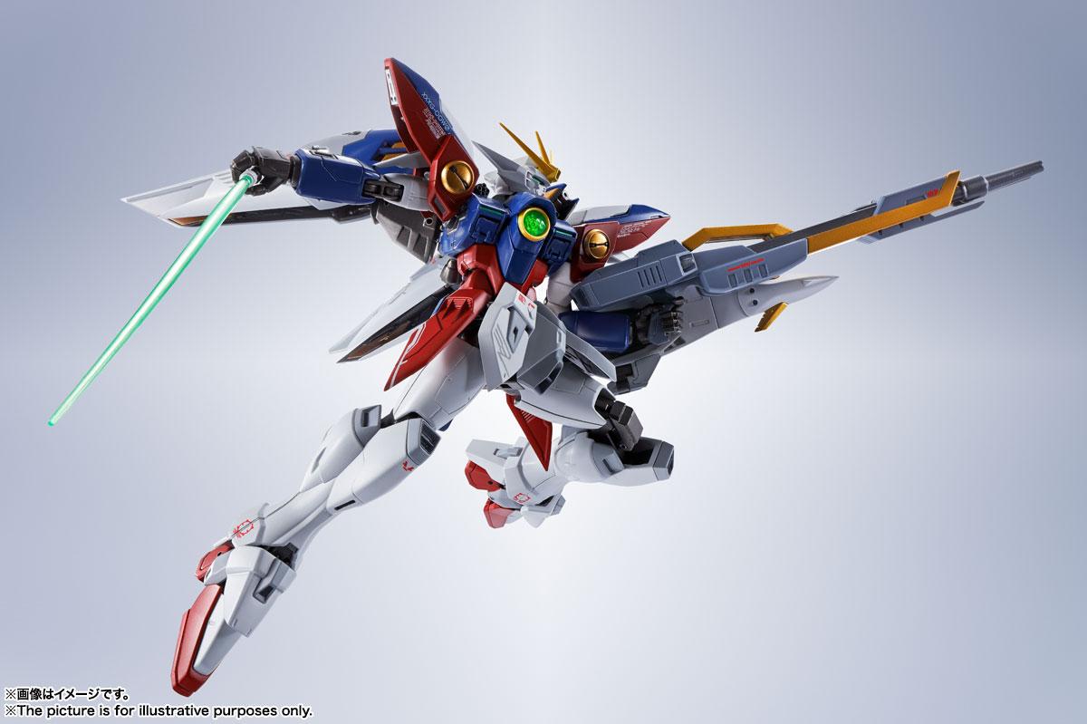 METAL ROBOT魂〈SIDE MS〉『ウイングガンダムゼロ』新機動戦記ガンダムW 可動フィギュア-010