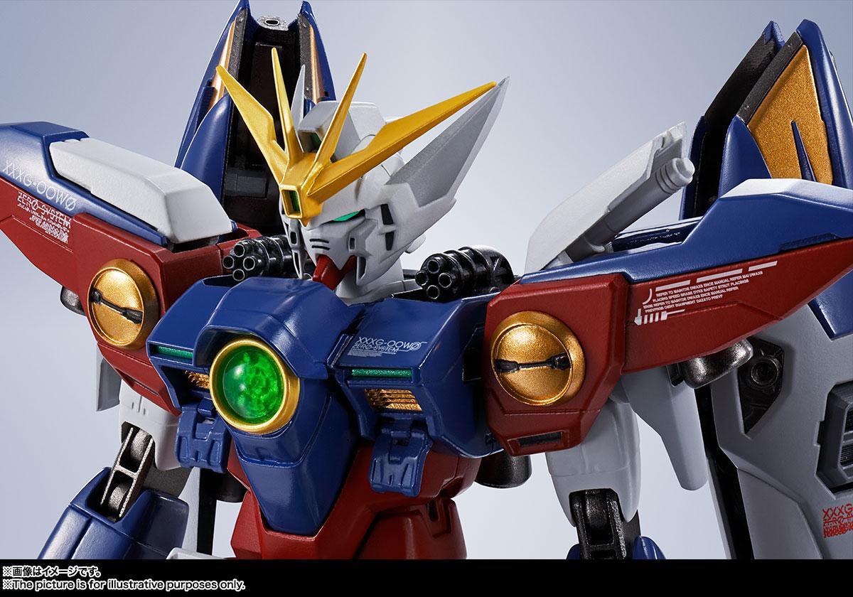 METAL ROBOT魂〈SIDE MS〉『ウイングガンダムゼロ』新機動戦記ガンダムW 可動フィギュア-011