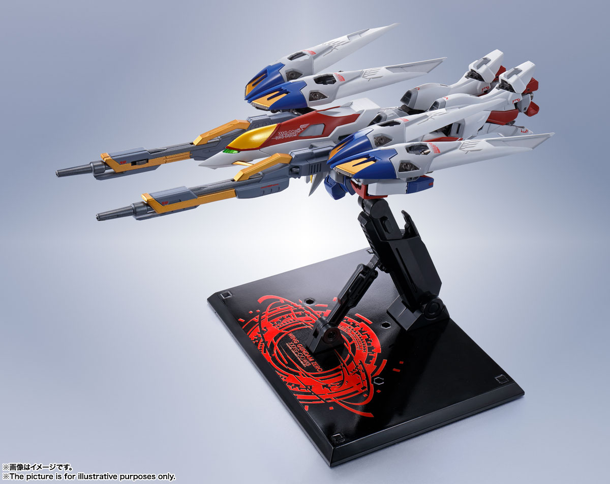 METAL ROBOT魂〈SIDE MS〉『ウイングガンダムゼロ』新機動戦記ガンダムW 可動フィギュア-012