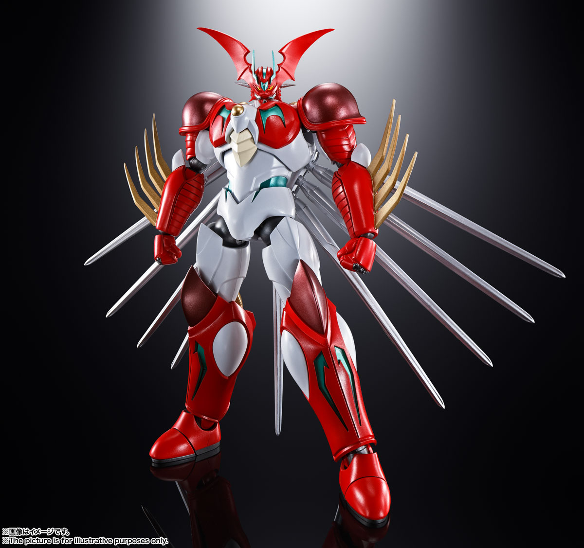 超合金魂『GX-99 ゲッターアーク』ゲッターロボ アーク 可動フィギュア-001
