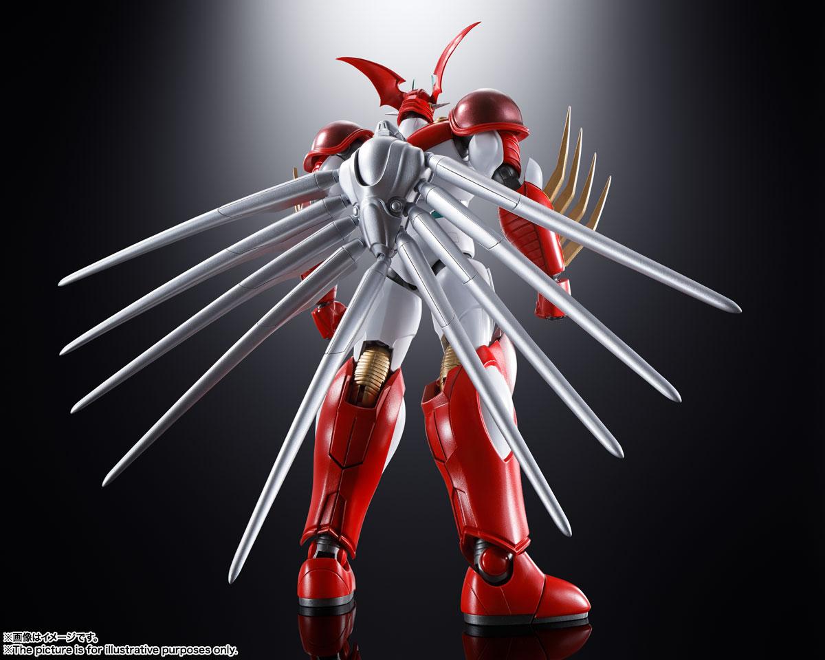 超合金魂『GX-99 ゲッターアーク』ゲッターロボ アーク 可動フィギュア-002