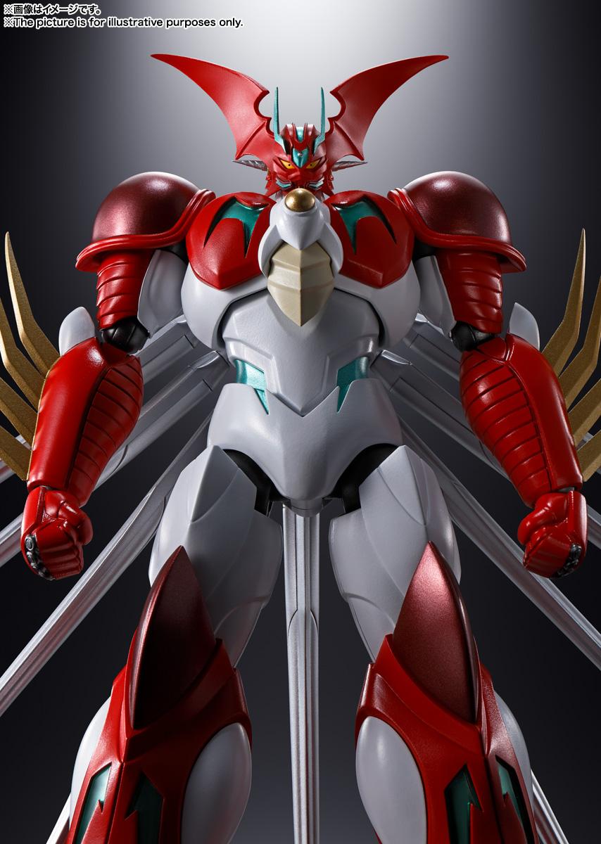 超合金魂『GX-99 ゲッターアーク』ゲッターロボ アーク 可動フィギュア-003
