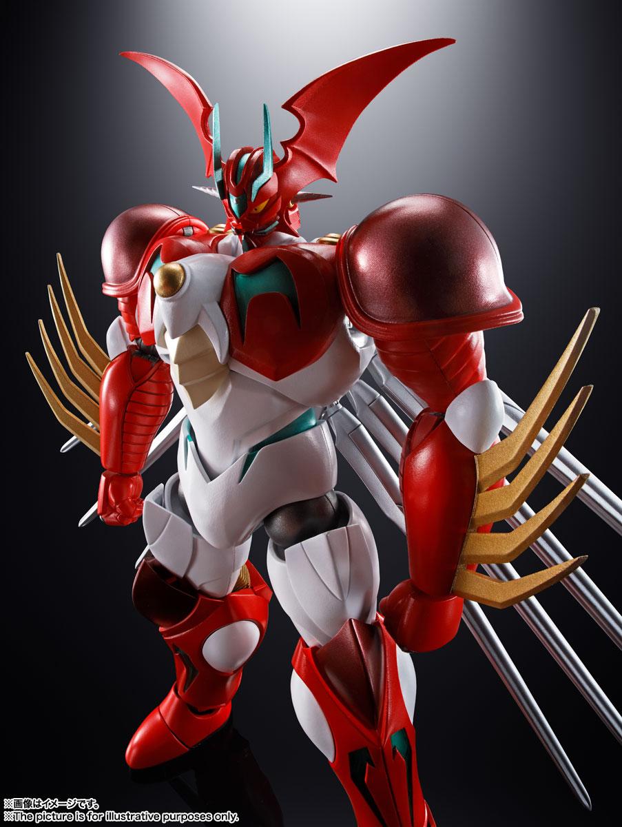 超合金魂『GX-99 ゲッターアーク』ゲッターロボ アーク 可動フィギュア-004
