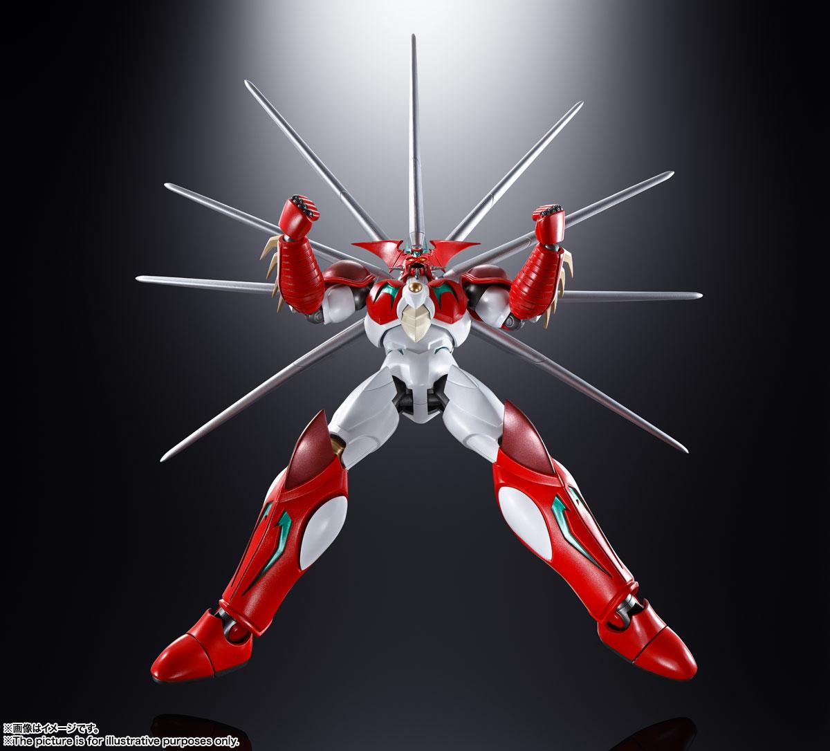 超合金魂『GX-99 ゲッターアーク』ゲッターロボ アーク 可動フィギュア-005