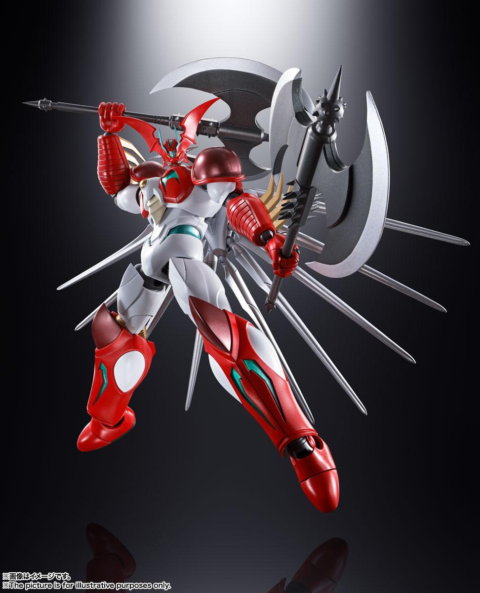 超合金魂『GX-99 ゲッターアーク』ゲッターロボ アーク 可動フィギュア-006