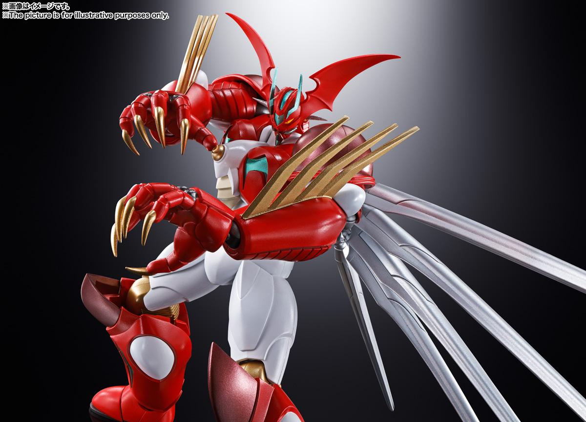 超合金魂『GX-99 ゲッターアーク』ゲッターロボ アーク 可動フィギュア-008