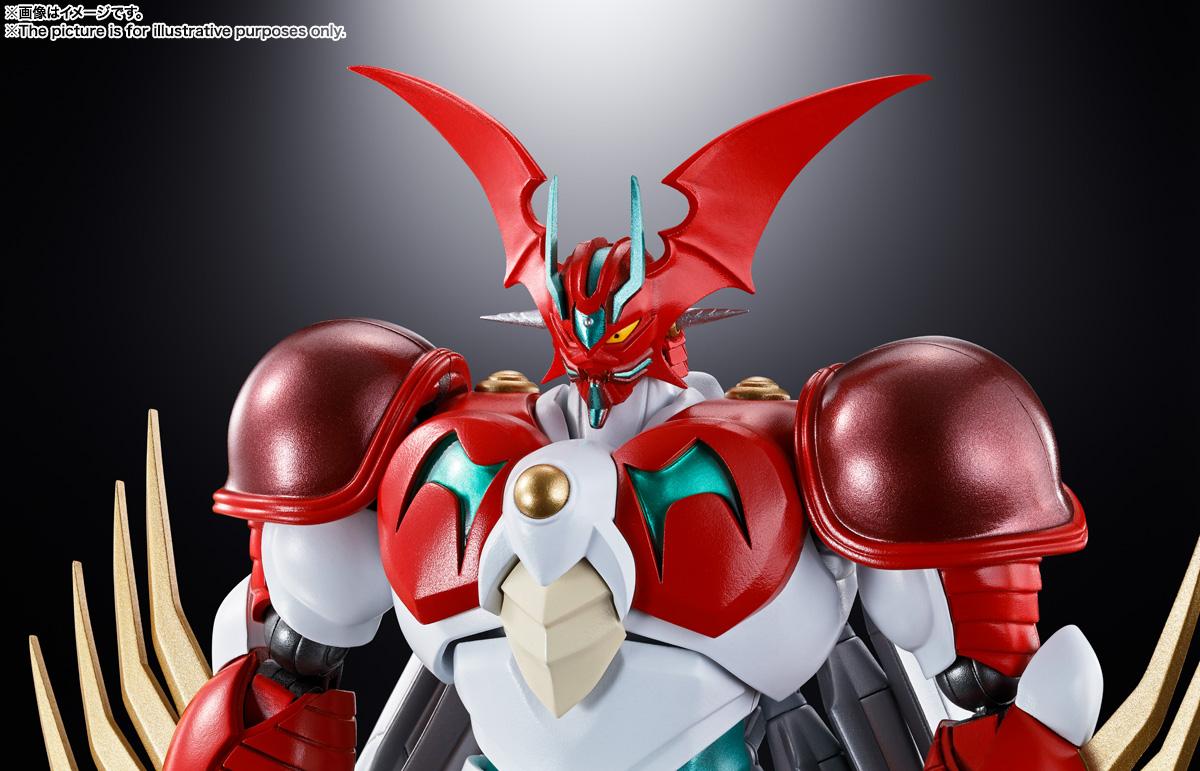 超合金魂『GX-99 ゲッターアーク』ゲッターロボ アーク 可動フィギュア-009