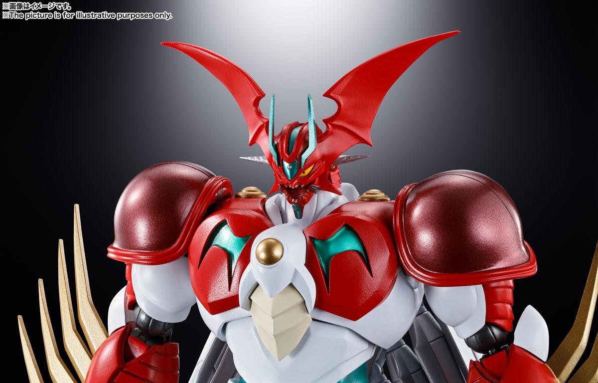 超合金魂『GX-99 ゲッターアーク』ゲッターロボ アーク 可動フィギュア-010
