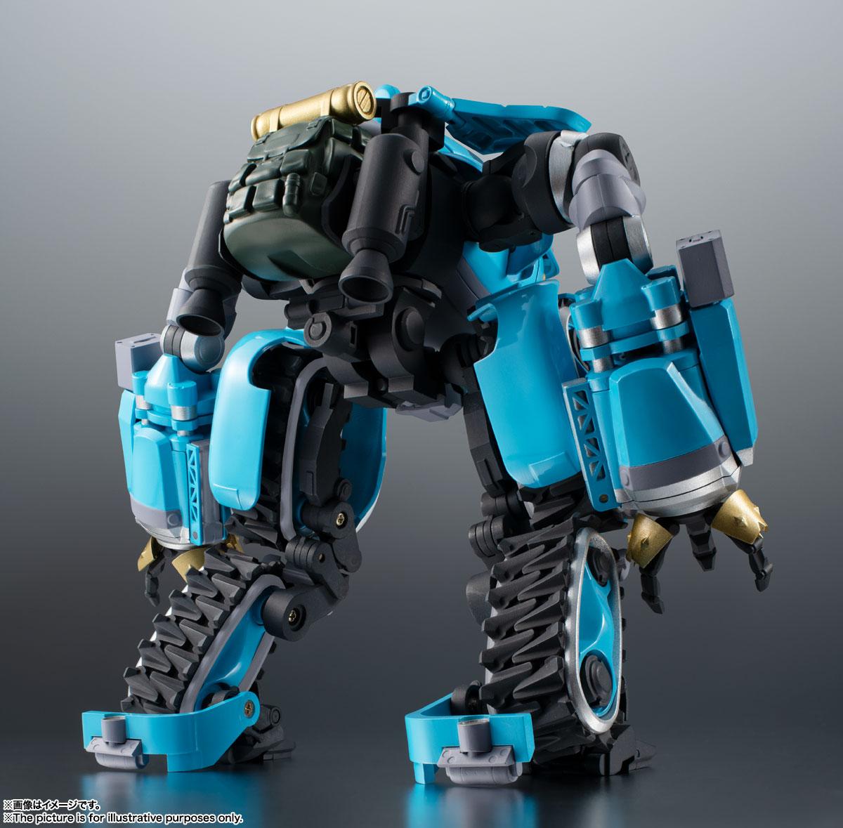 ROBOT魂〈SIDE MB〉『ビッグトニー』サクガン 可動フィギュア-002