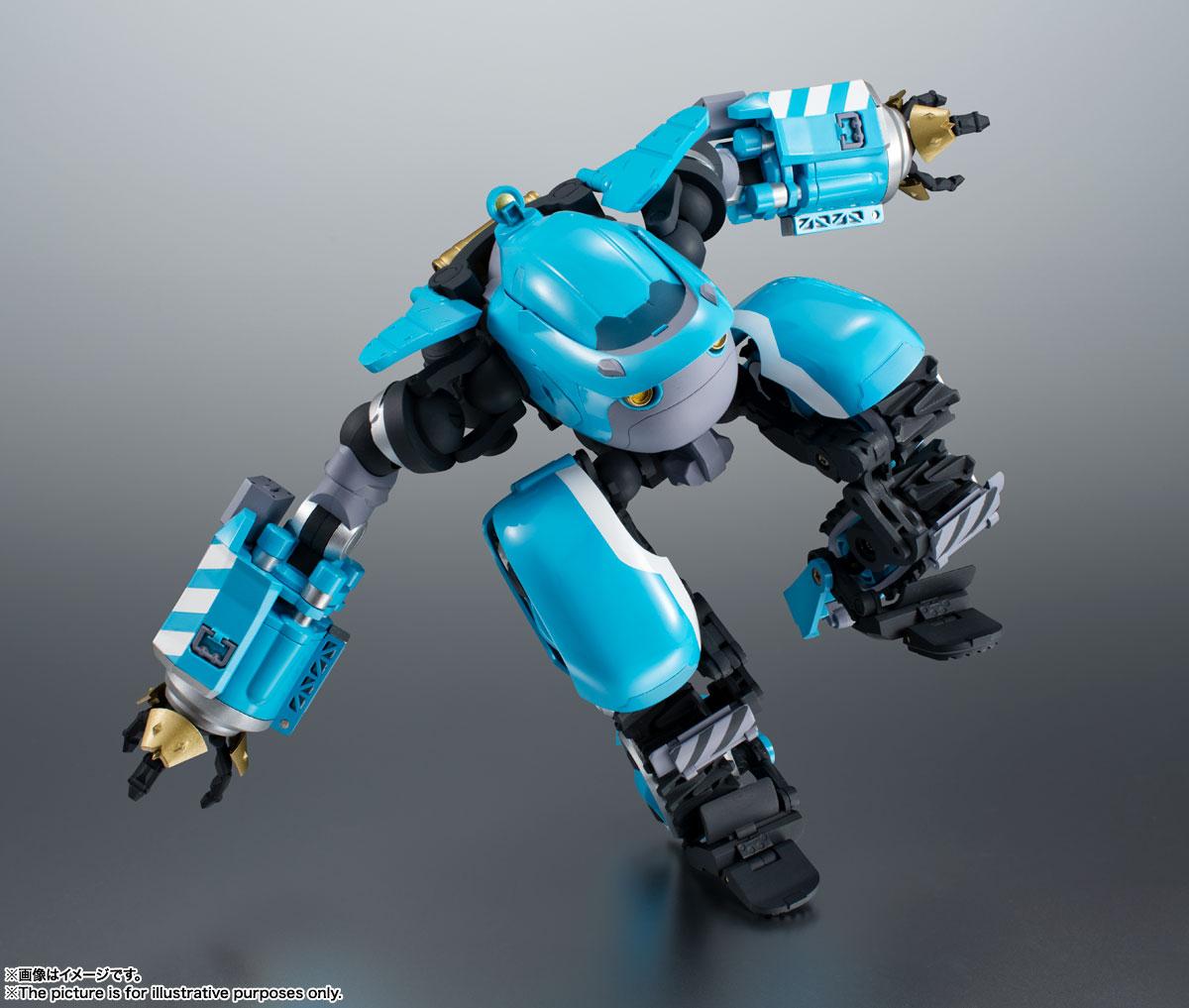 ROBOT魂〈SIDE MB〉『ビッグトニー』サクガン 可動フィギュア-003
