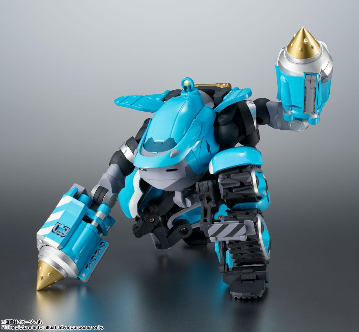 ROBOT魂〈SIDE MB〉『ビッグトニー』サクガン 可動フィギュア-006