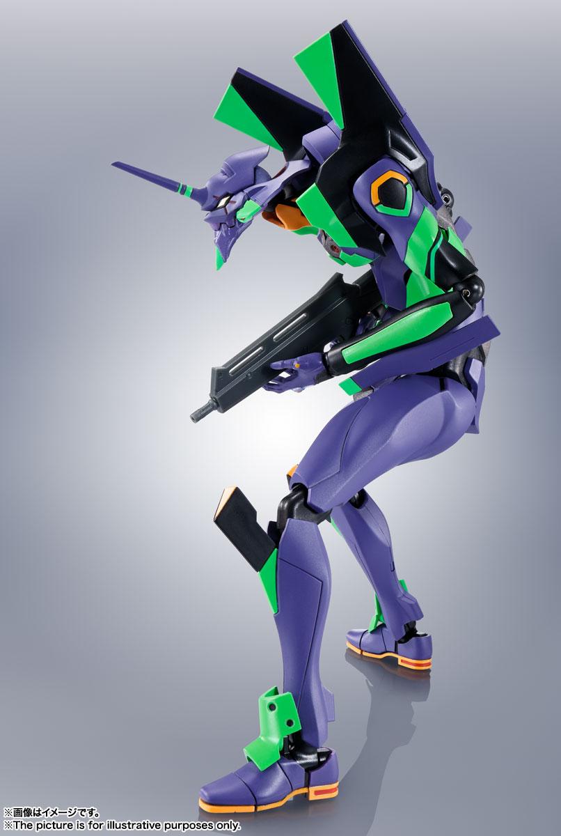 ROBOT魂〈SIDE EVA〉『エヴァンゲリオン初号機+カシウスの槍(リニューアルカラーエディション)』シン・エヴァンゲリオン劇場版 可動フィギュア-006
