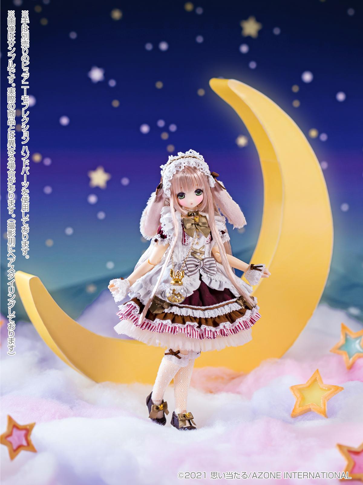 Star Sprinkles『Moon Rabbit Miu/ムーンラビット 月兎 みう』えっくす☆きゅーと 1/6 完成品ドール-002