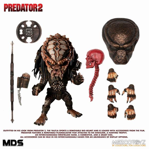 MDS デザイナーシリーズ『シティハンター・プレデター DX』6インチ アクションフィギュア