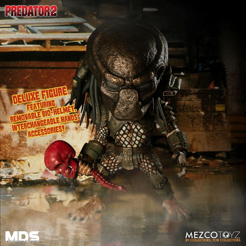 MDS デザイナーシリーズ『シティハンター・プレデター DX』6インチ アクションフィギュア-001