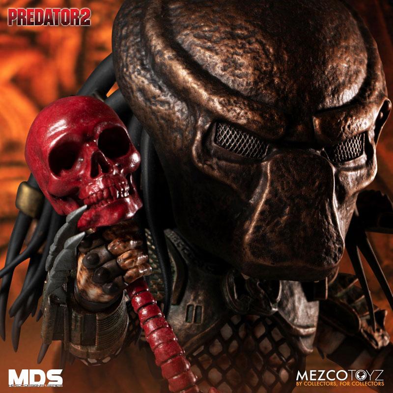 MDS デザイナーシリーズ『シティハンター・プレデター DX』6インチ アクションフィギュア-002