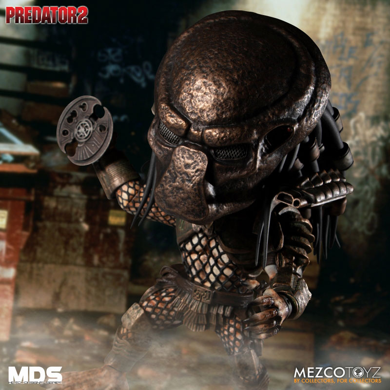 MDS デザイナーシリーズ『シティハンター・プレデター DX』6インチ アクションフィギュア-004
