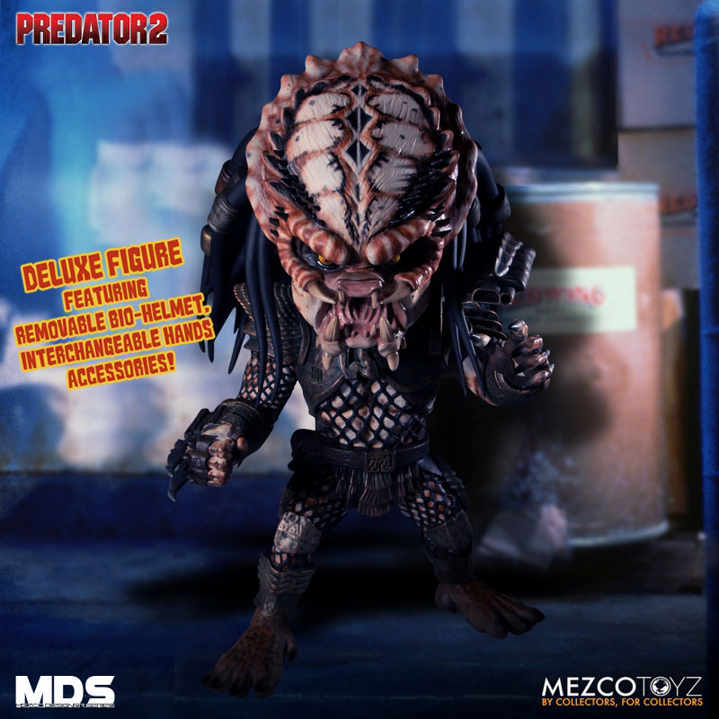 MDS デザイナーシリーズ『シティハンター・プレデター DX』6インチ アクションフィギュア-005