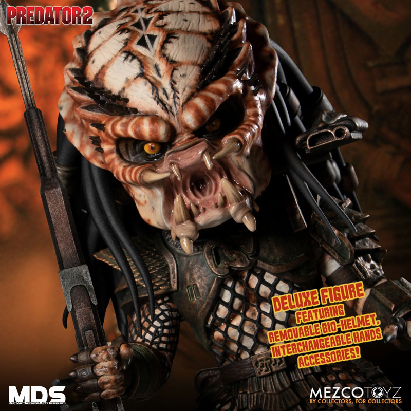 MDS デザイナーシリーズ『シティハンター・プレデター DX』6インチ アクションフィギュア-006