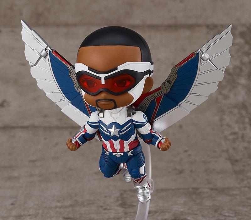 ねんどろいど『キャプテン・アメリカ(サム・ウィルソン)DX』ファルコン&ウィンター・ソルジャー デフォルメ可動フィギュア-004
