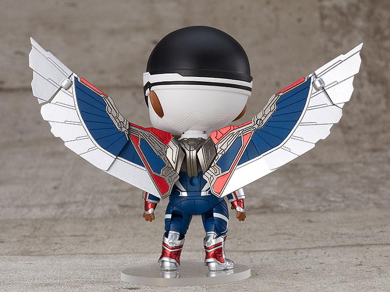 ねんどろいど『キャプテン・アメリカ(サム・ウィルソン)DX』ファルコン&ウィンター・ソルジャー デフォルメ可動フィギュア-006