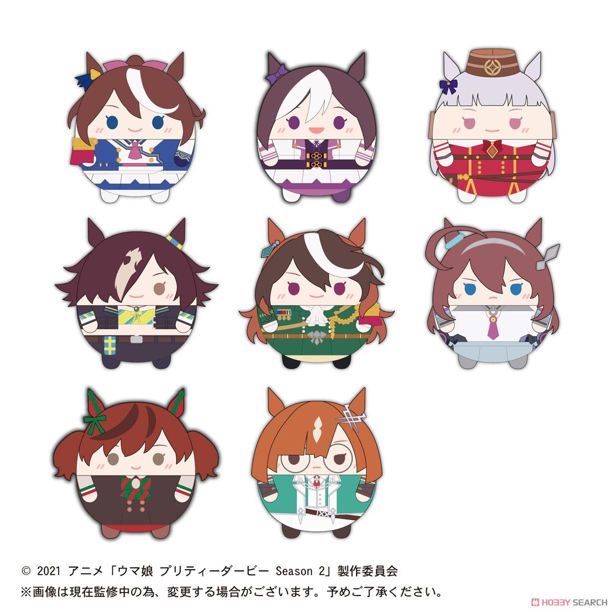 ウマ娘『TVアニメ ウマ娘 プリティーダービー Season2 ふわコロりん』8個入りBOX-001