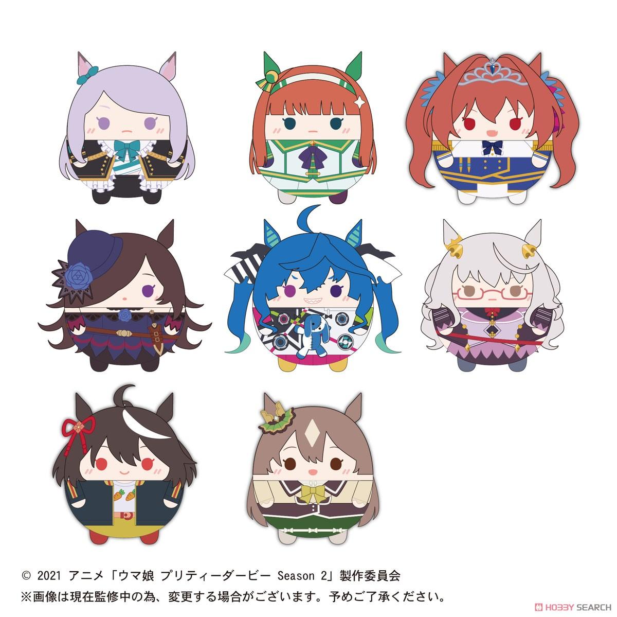 ウマ娘『TVアニメ ウマ娘 プリティーダービー Season2 ふわコロりん』8個入りBOX-010