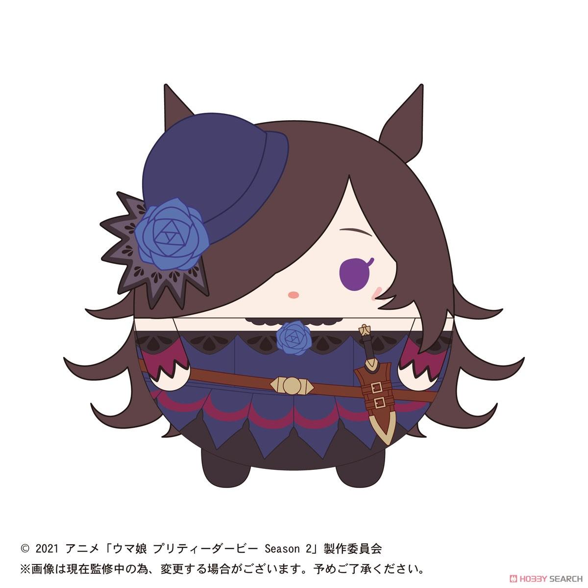 ウマ娘『TVアニメ ウマ娘 プリティーダービー Season2 ふわコロりん』8個入りBOX-016