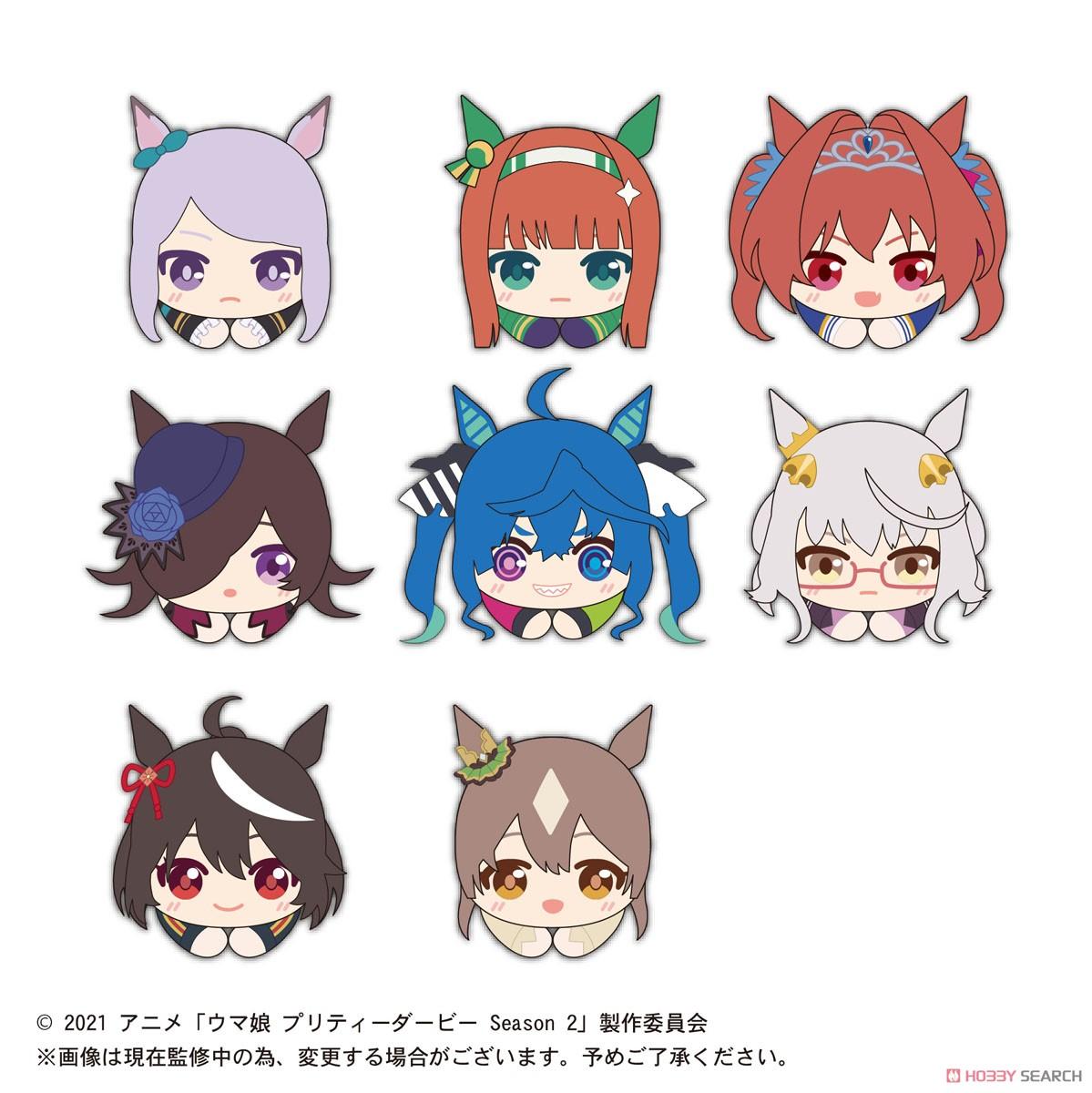 ウマ娘『TVアニメ ウマ娘 プリティーダービー Season2 はぐキャラコレクション』8個入りBOX-012
