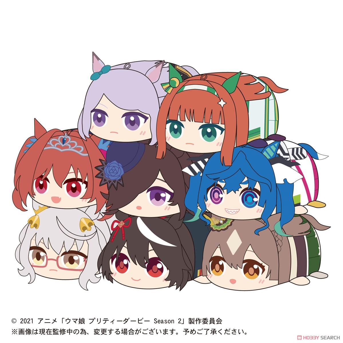 ウマ娘『TVアニメ ウマ娘 プリティーダービー Season2 ぽてコロマスコット』8個入りBOX-010