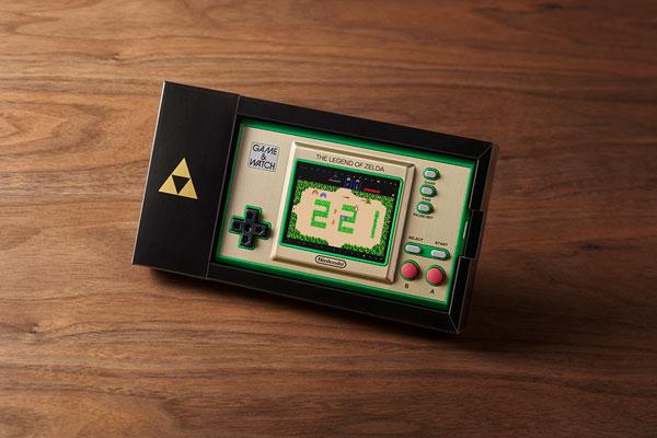 ゲーム&ウオッチ『ゼルダの伝説』ゲーム機-001