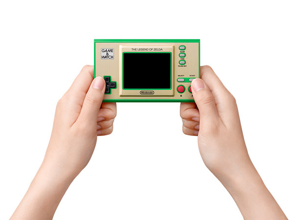 ゲーム&ウオッチ『ゼルダの伝説』ゲーム機-002