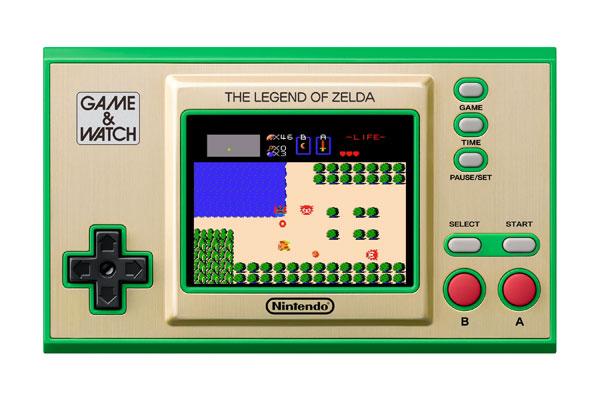 ゲーム&ウオッチ『ゼルダの伝説』ゲーム機-004
