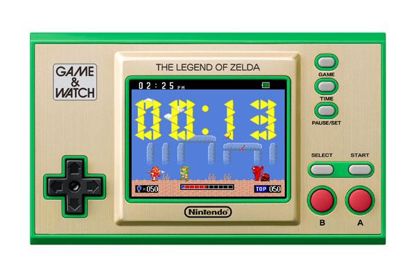 ゲーム&ウオッチ『ゼルダの伝説』ゲーム機-011