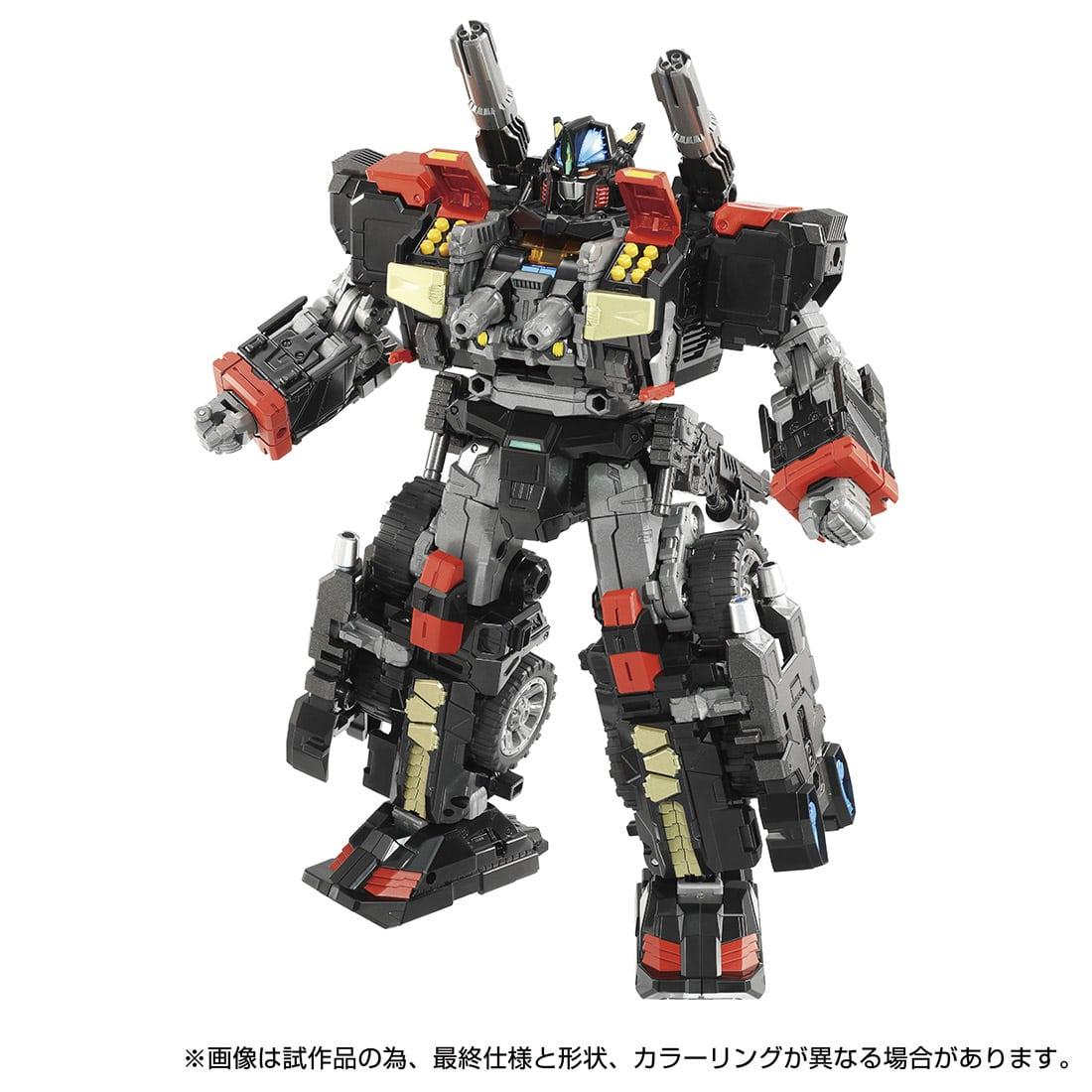 【限定販売】ダイアクロン『DA-79 バトルコンボイ V-SHADOW』可動フィギュア-008