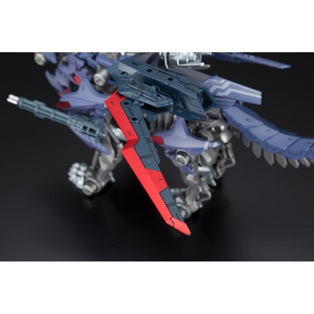 ゾイドワイルド『ビクター・スピーゲル専用ハンターウルフ』組み立て可動フィギュア-004
