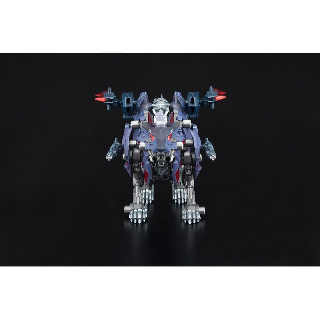 ゾイドワイルド『ビクター・スピーゲル専用ハンターウルフ』組み立て可動フィギュア-008