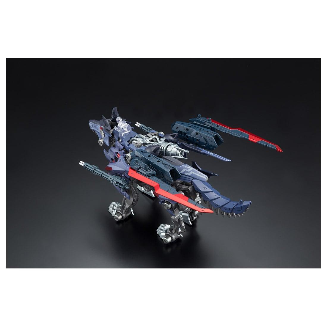 ゾイドワイルド『ビクター・スピーゲル専用ハンターウルフ』組み立て可動フィギュア-009