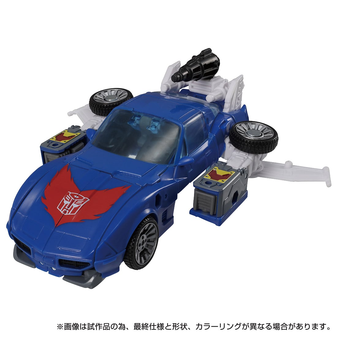 トランスフォーマー キングダム『KD-15 トラックス』可変可動フィギュア-004