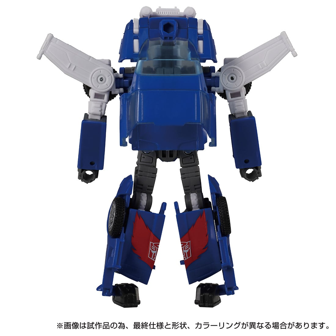トランスフォーマー キングダム『KD-15 トラックス』可変可動フィギュア-006